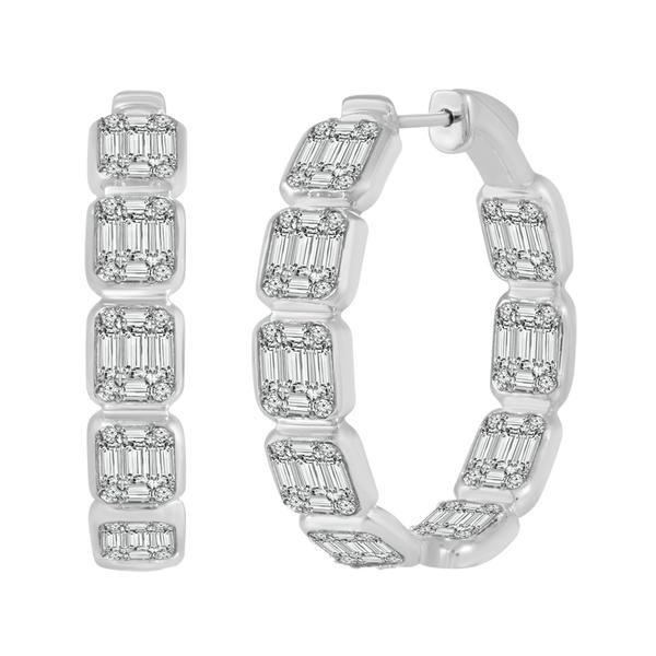 View Times Square Diamond Earrings