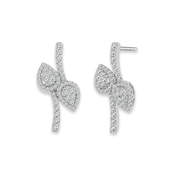 View 2BeLOVEd Diamond Earrings
