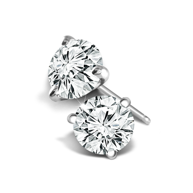 View DIAMOND STUDS IN 14K