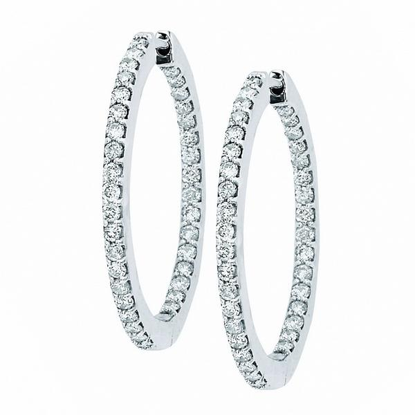 View INSIDE OUT PRONG HOOPS
