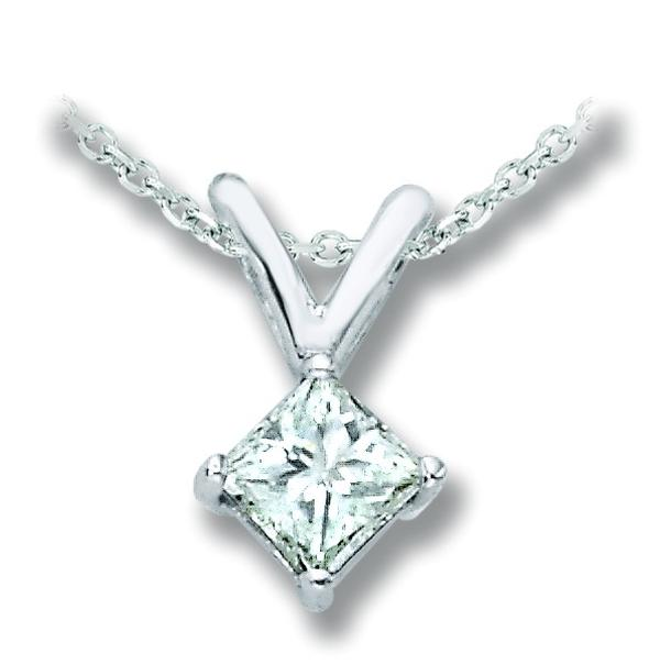 View SOLITAIRE PENDANT PRINCESS
