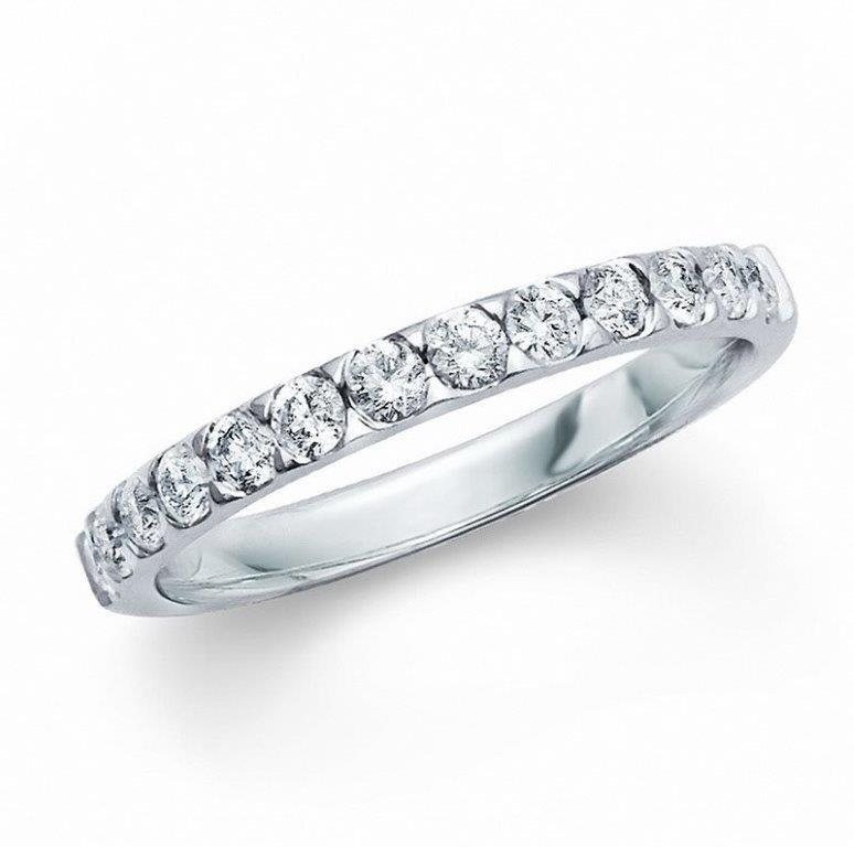 View HALF ETERNITY BANDS