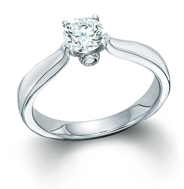 View PURE ELEGANCE SOLITAIRE - ROUND